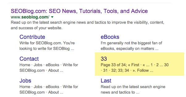 how to get google to show sitelinks