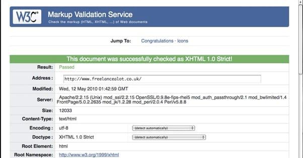 valid code error 3
