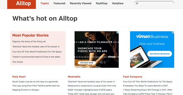 AllTop Website