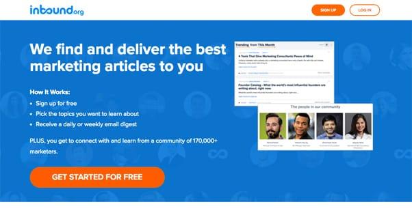 Inbound.org Homepage