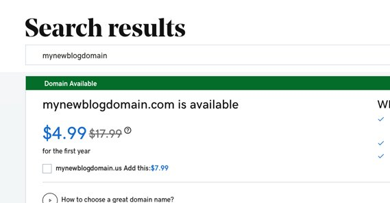 Registering a New Domain