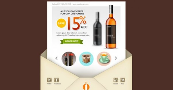Example Email Newsletter Design