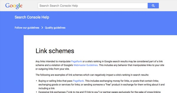 Googles Stance on Paid Links