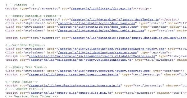 Javascript Includes