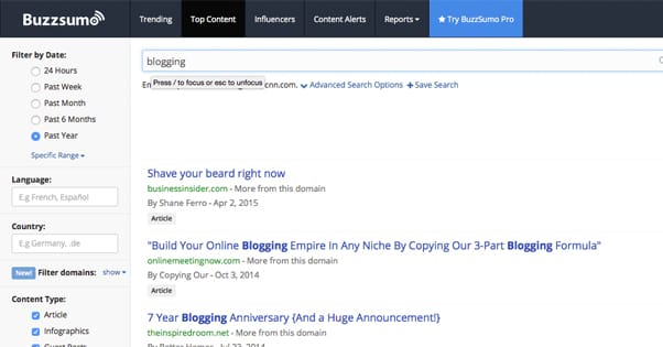 30 Tools for Advanced Content Marketers and Bloggers