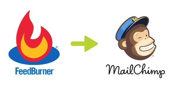 Feedburner and Mailchimp