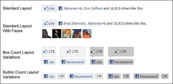 Facebook Like Buttons for Websites