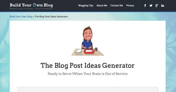 Buildyourownblog