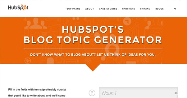 Hubspot Topic Generator