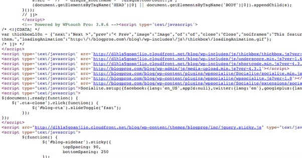 Source Code Plugins
