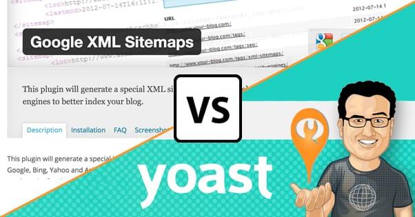 yoast seo sitemap vs google xml sitemaps plugin
