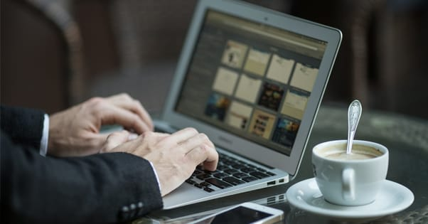 Guest Blogging at a Coffee Shop