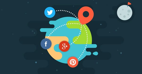 Social Engagement Illustration