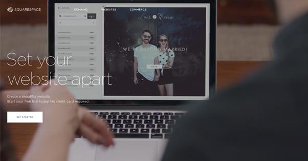 Squarespace Homepage