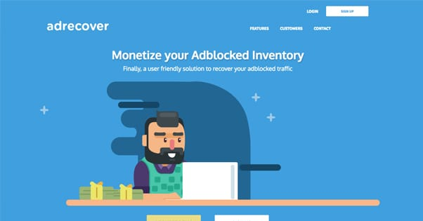 AdRecover Homepage