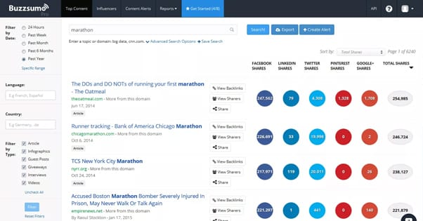 Buzzsumo Outreach