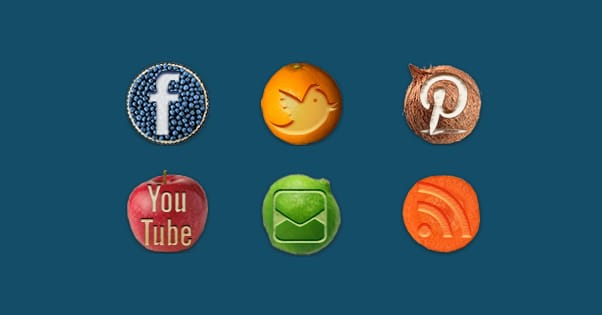 Custom Social Buttons Examples