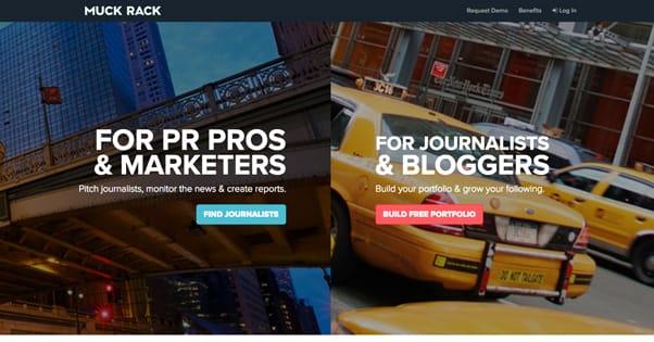 MuckRack Website