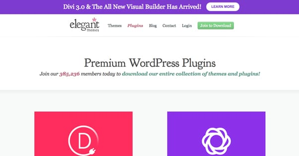 Elegant Themes Site