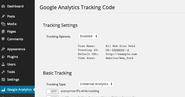 Google Analytics Enabled