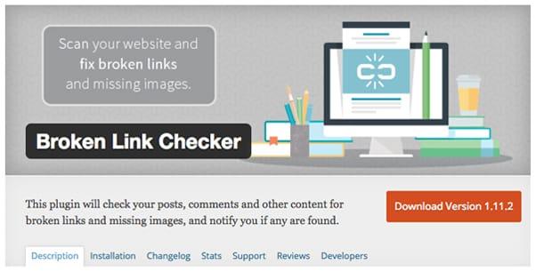 Wordpress Broken Link Checker