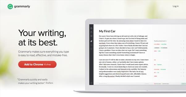 Grammarly Website