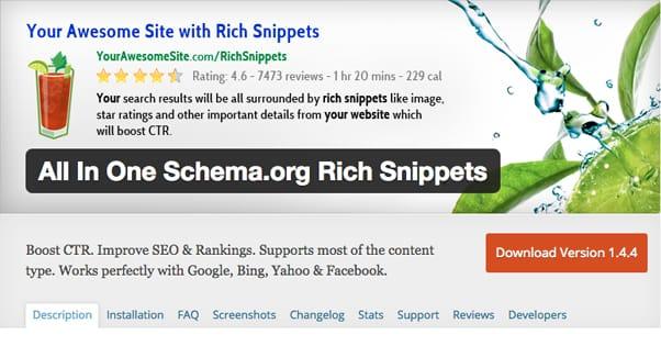 Schema Rich Snippets