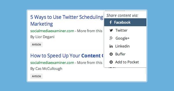 BuzzSumo Content Curation