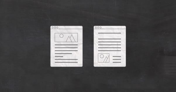Copy Content Illustrations