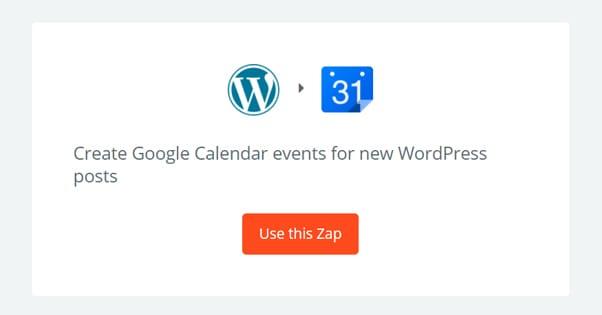 Google Calendar WordPress Integration