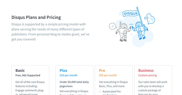 Disqus Pricing