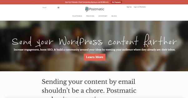Postmatic Website
