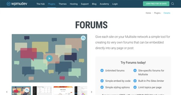WPmudev Forums