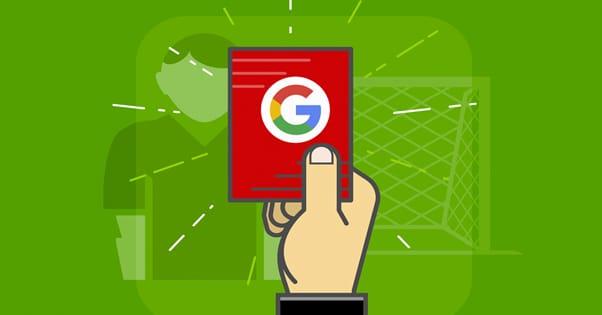 Google Penalty Illustration