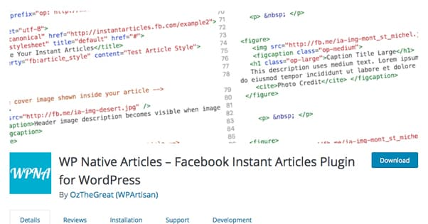 WP Native Articles