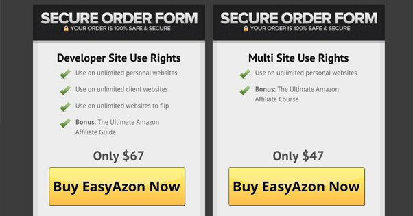 EasyAzon Pricing