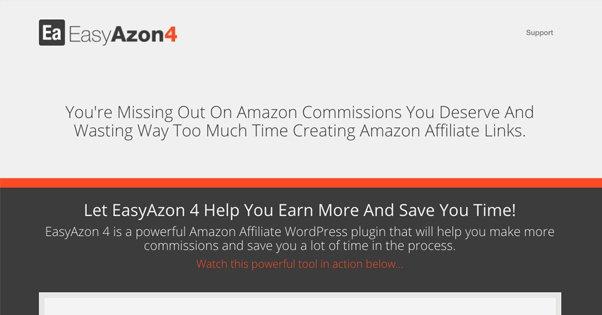 EasyAzon Pro Homepage