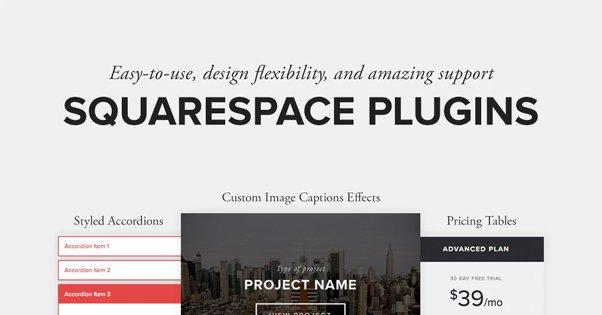 SquareSpace Plugin Page