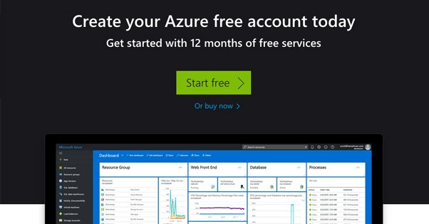 Azure Homepage