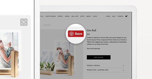 Pinterest Save Widget