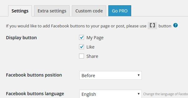 Wordpress Like Enable