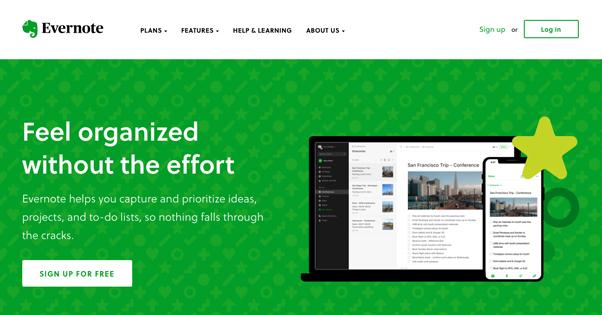 Evernote Site
