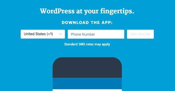 Mobile WordPress App