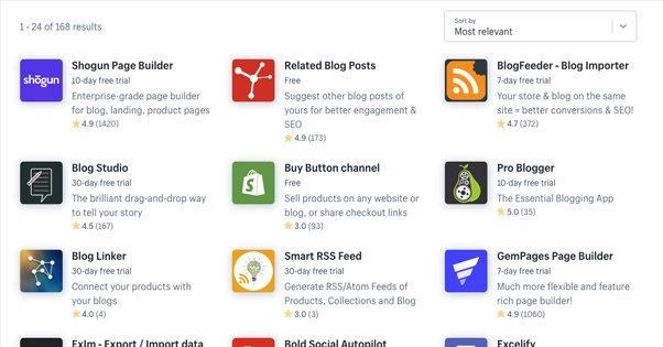 Shopify Blog Plugins