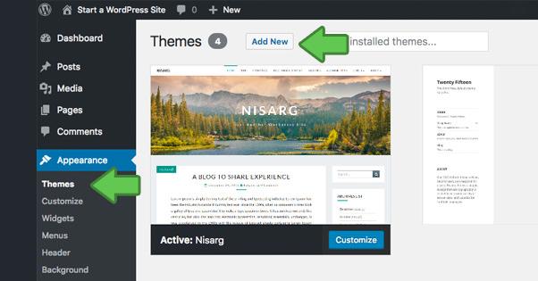 Wordpress Blog Install