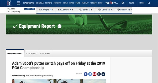 PGA Blog