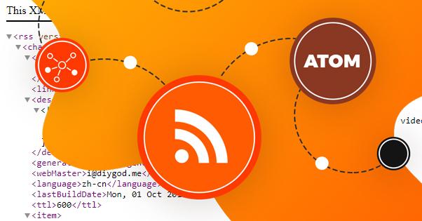 Atom RSS Illustration