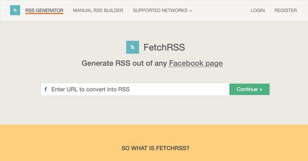 FetchRSS