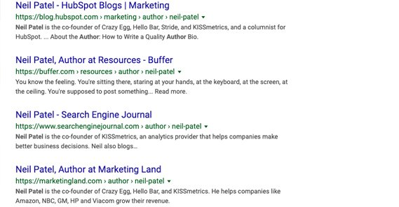 Example Guest Post Author at Multiple Sites