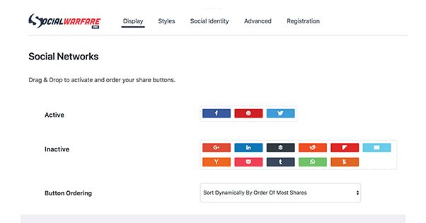 Floating Social Buttons